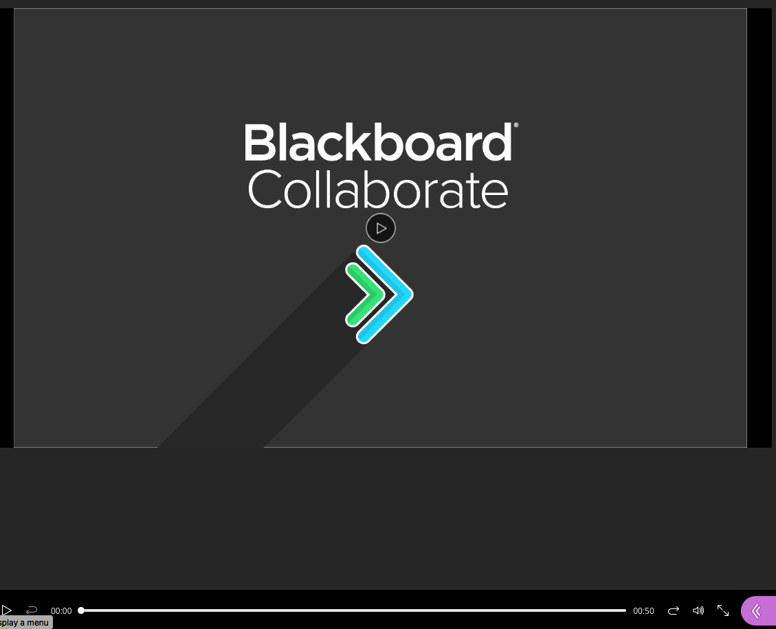Bb Collaborate Play Screen