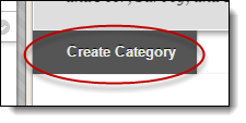 Create category button circled