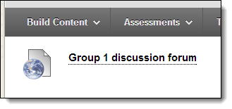 Group discussion web link